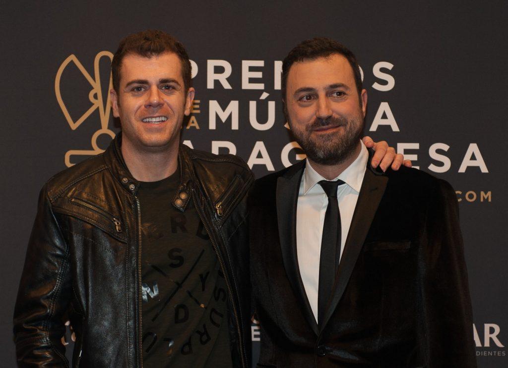 Jorge San Martin y David Chapín. Foto, Ángel Burbano