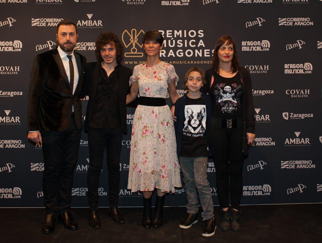 David Chapín con Rubén Pozo y Clara Téllez. Foto, Ángel Burbano