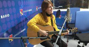 María José Hernández durante su intervención en Aragón Musical En Vivo #13