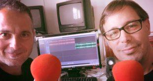 Quique Artiach junto a Sergio Falces después de grabar el podcast Diez #37