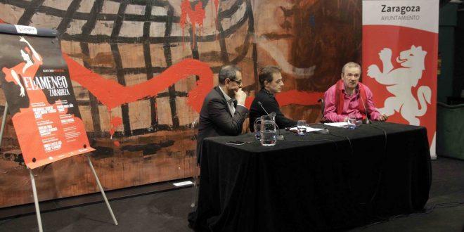 Durante la presentación del 5º Festival Flamenco Zaragoza