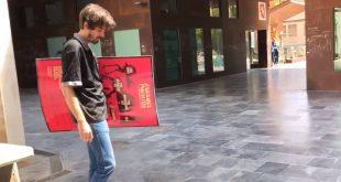 Manuel Cabeza, del colectivo Analog Love, organizadores del Zaragoza Psych Fest.