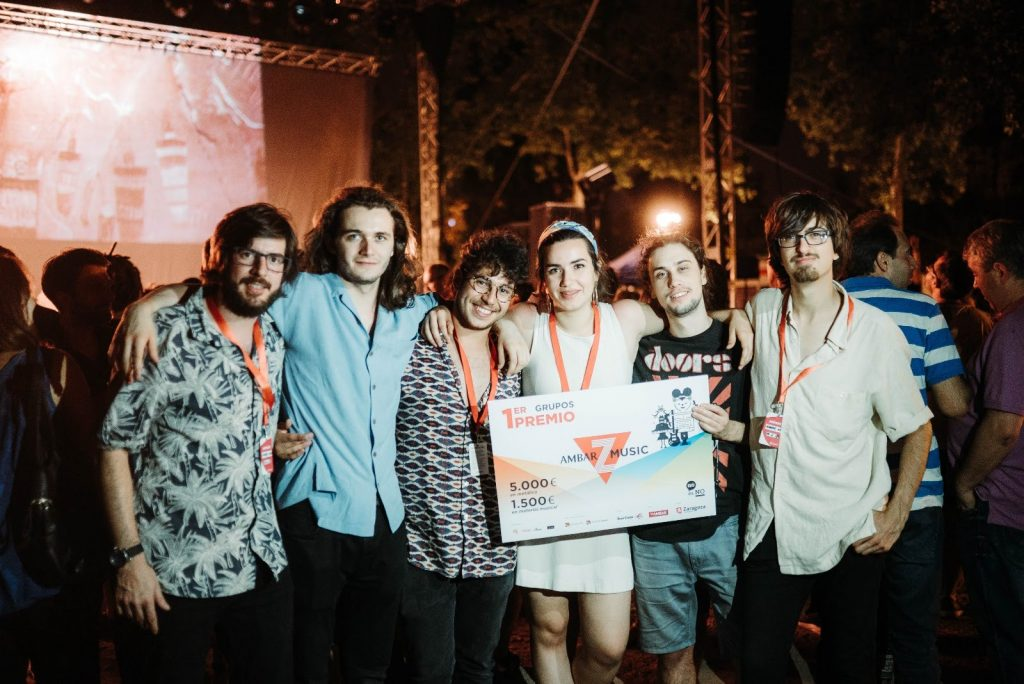 Manuel de la Cueva & The Breeze. Ganadores del AmbarZMusic 2018. Foto, Ana Escario / Aragón Musical