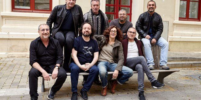 Colectivo Chicotén con Carmen París