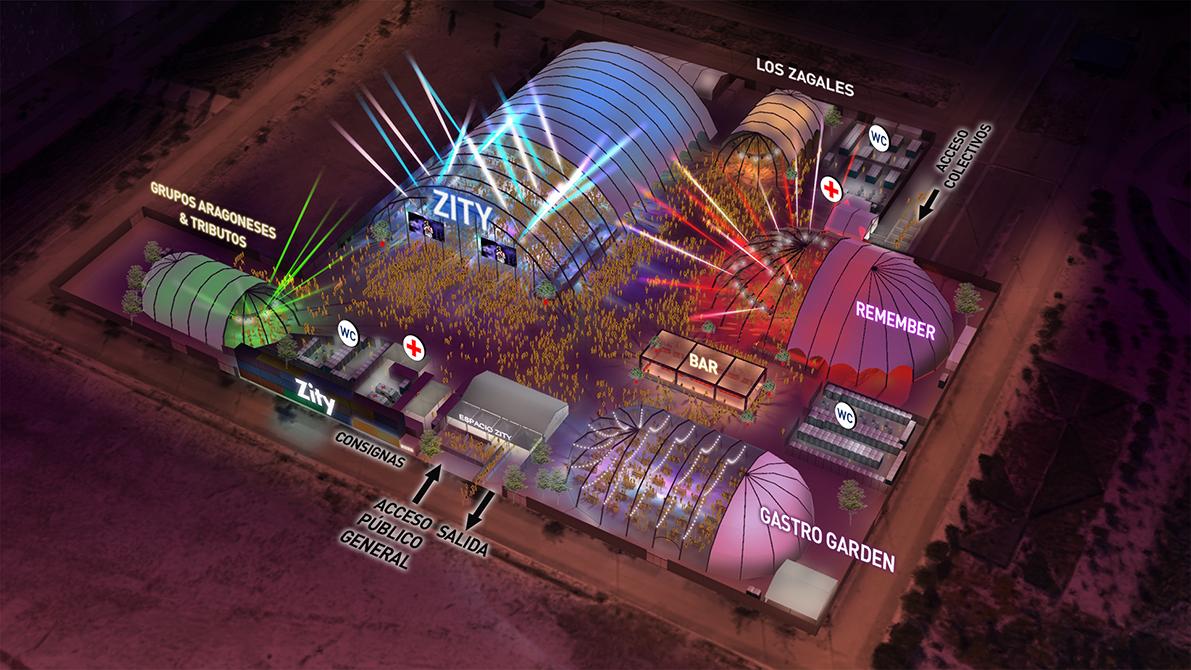 Mapa Espacio Zity