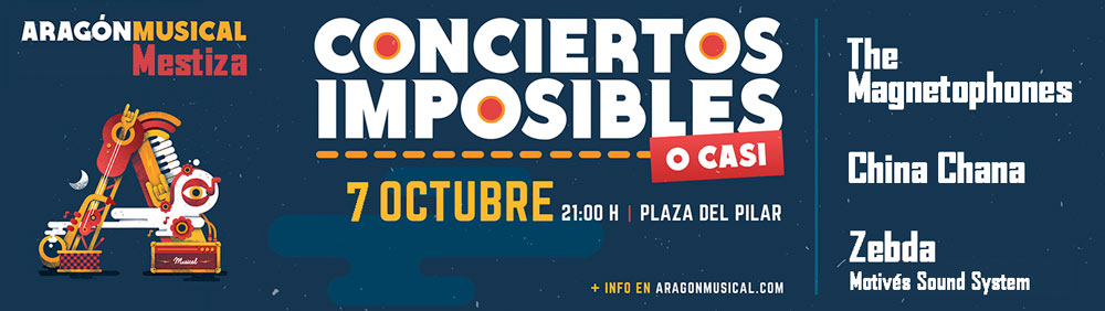 Conciertos Imposibles, o casi: Aragón Musical Mestiza