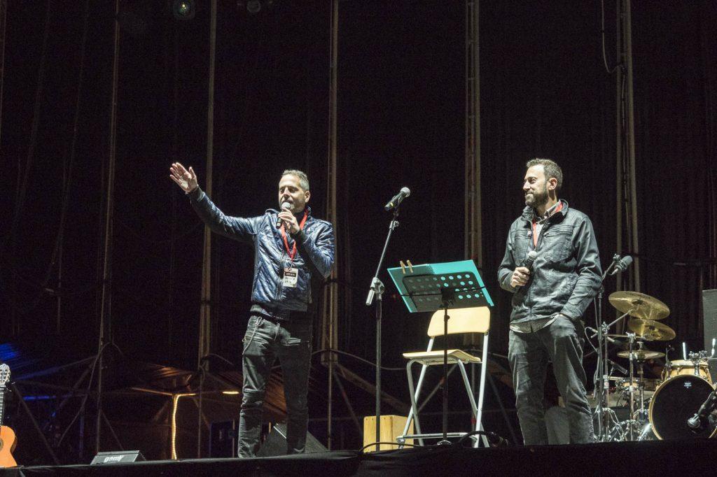 Sergio Falces y David Chapín. Foto, Luis Lorente