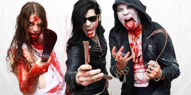 Los Lügers celebran Halloween junto a Mercury Rex y Black Seal.