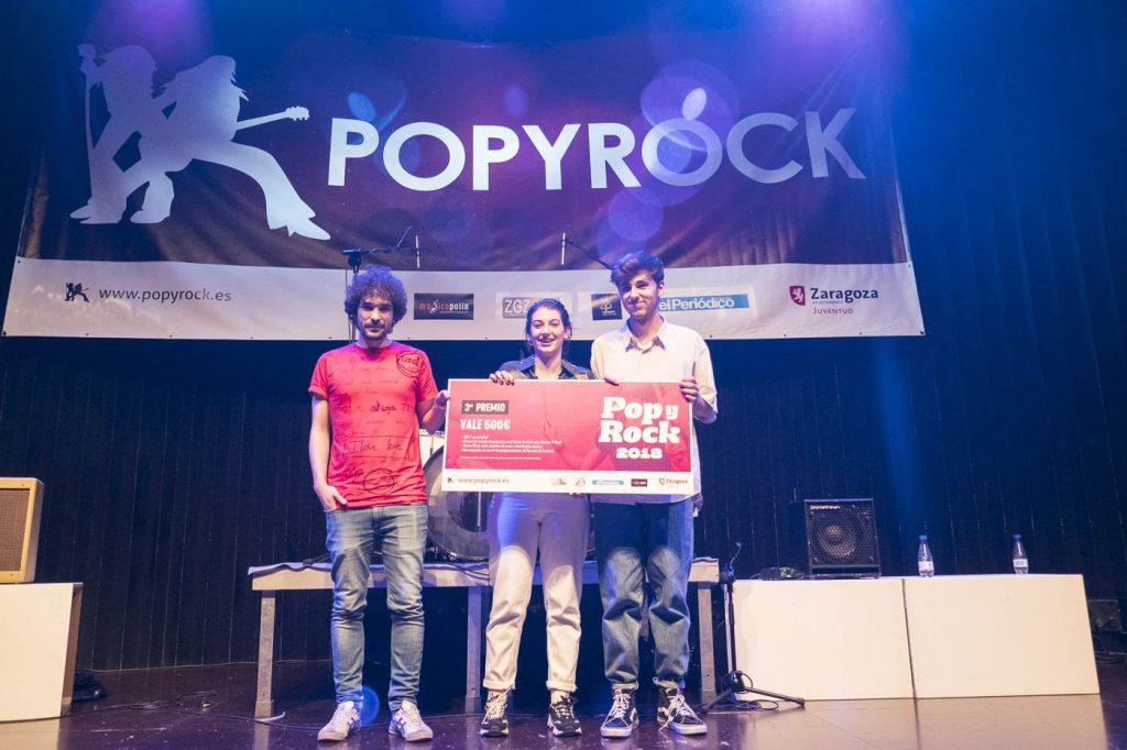Popyrock 2018. Setback. Centro Cívico Delicias. Foto, Luis Lorente