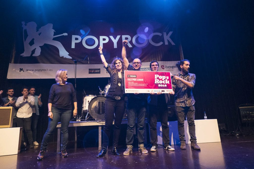 Popyrock 2018. Endorphin Shot. Centro Cívico Delicias. Foto, Luis Lorente