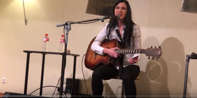"""Isabel Marco presentó en Zaragoza """"Quiero Ser Agua"""", su primer disco"""