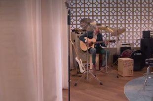 El aragonés Ángel Cortés en el programa La Voz de Antena 3