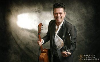 Santiago Auserón 'Juan Perro' en los XVIII Premios de la Música Aragonesa Aragón Musical. Por: Jal Lux.