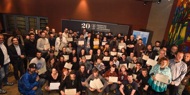 Estas son las nominaciones a los Premios de la Música Aragonesa del 20º aniversario
