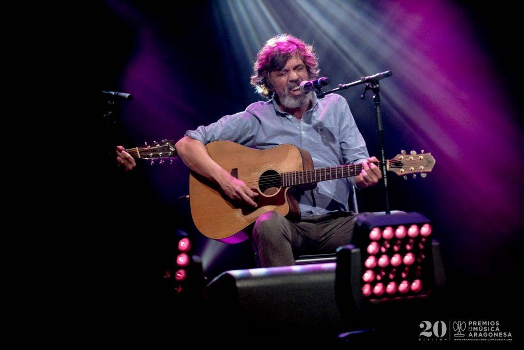 Tachenko en los 20 Premios de la Música Aragonesa. Foto, Jaime Oriz