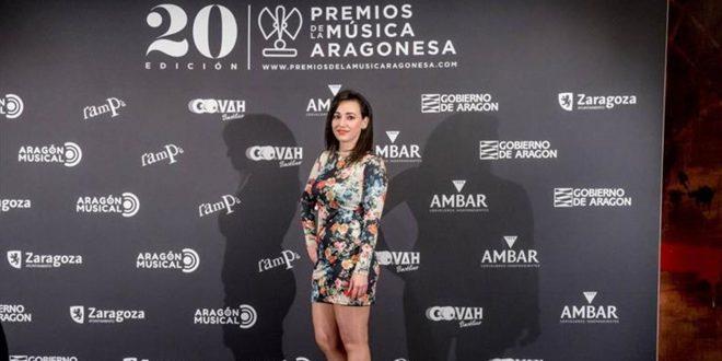 Ariadna Redondo en los 20º Premios de la Música Aragonesa