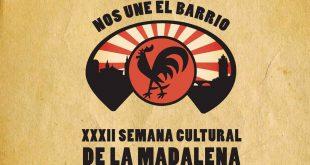 Cartel de la XXXII Semana Cultural de La Madalena
