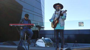 Pecker en la Azotea de Estrellas 2019, organizado por DGA y Aragón Musical