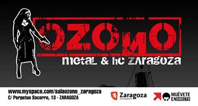 Sala Ozono de Zaragoza