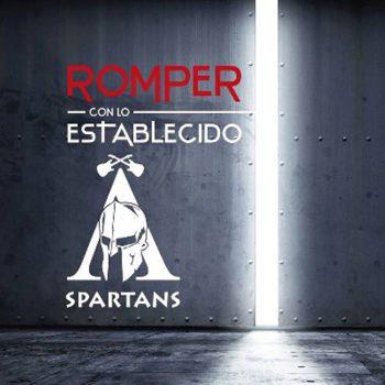 Portada del disco 'Romper con lo establecido' de Spartans
