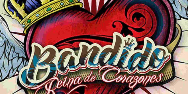 Portada del disco 'Reina de Corazones' de Bandido