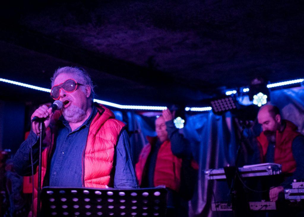 Aviador Dro el 4 de octubre de 2019 en La Casa del Loco. Foto, Ángel Burbano