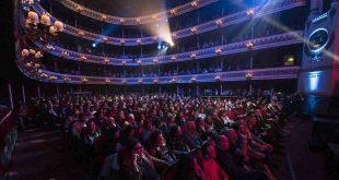 Durante los 20º Premios de la Música Aragonesa. Por Luis Lorente.
