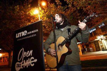 Ciber Open Mic organizado por Diego Meléndez