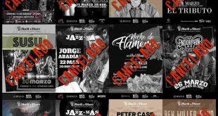 Programación aplazada del Rock & Blues de Zaragoza