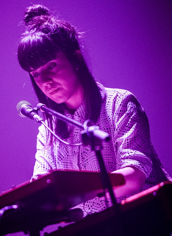 Christina Rosenvinge el 10 de enero en Las Armas. Foto, Ángel Burbano