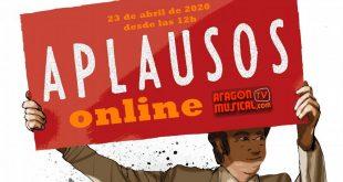 El 23 de abril Aragón Musical celebra el Día de Aragón con 'Aplausos Online'