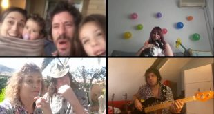 Fotograma del videoclip de Yago y Los Olvidados 'Estado de Alarma'.