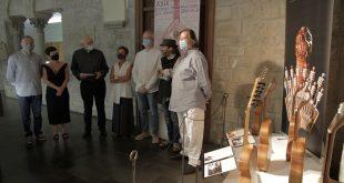 Inauguración de la exposición 'Sonidos vecinos' en Jaca