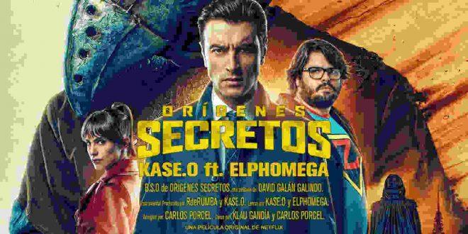 Portada single 'Orígenes Secretos' de Kase.O junto a Elphomega & Klau Gandía