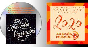 Almendra Garrapiñá son Nº1 de los 20 discos aragoneses de 2020 en la 3ª semana