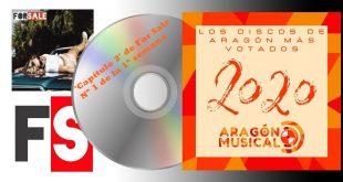 'Capítulo 2' de For Sale es el número 1 de esta semana en la lista de Los 20 discos aragoneses de 2020