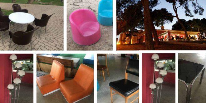 Terraluna Terraza se despide sacando a la venta su mobiliario