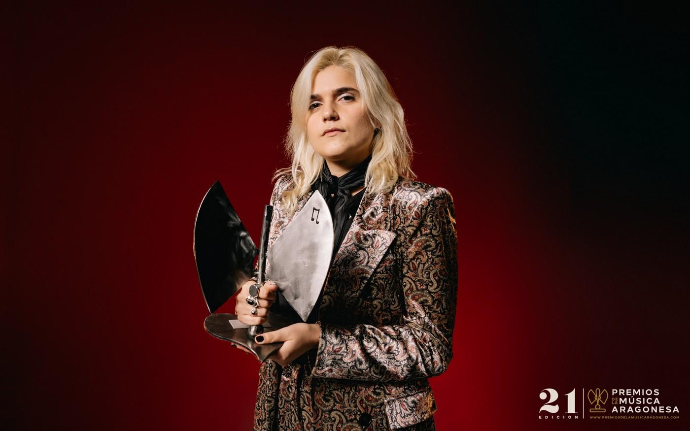 Erin Memento. 21º Premios de la Música Aragonesa. Foto, Jal Lux