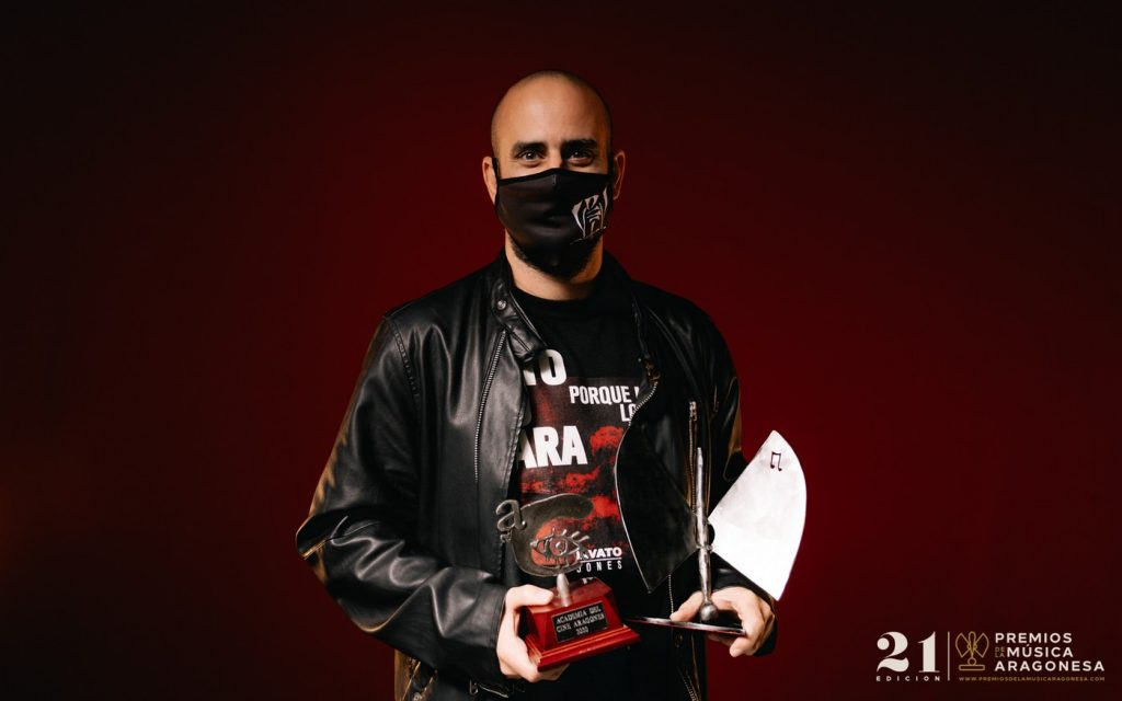 Marcos Otero / Kase.O. 21º Premios de la Música Aragonesa. Foto, Jal Lux