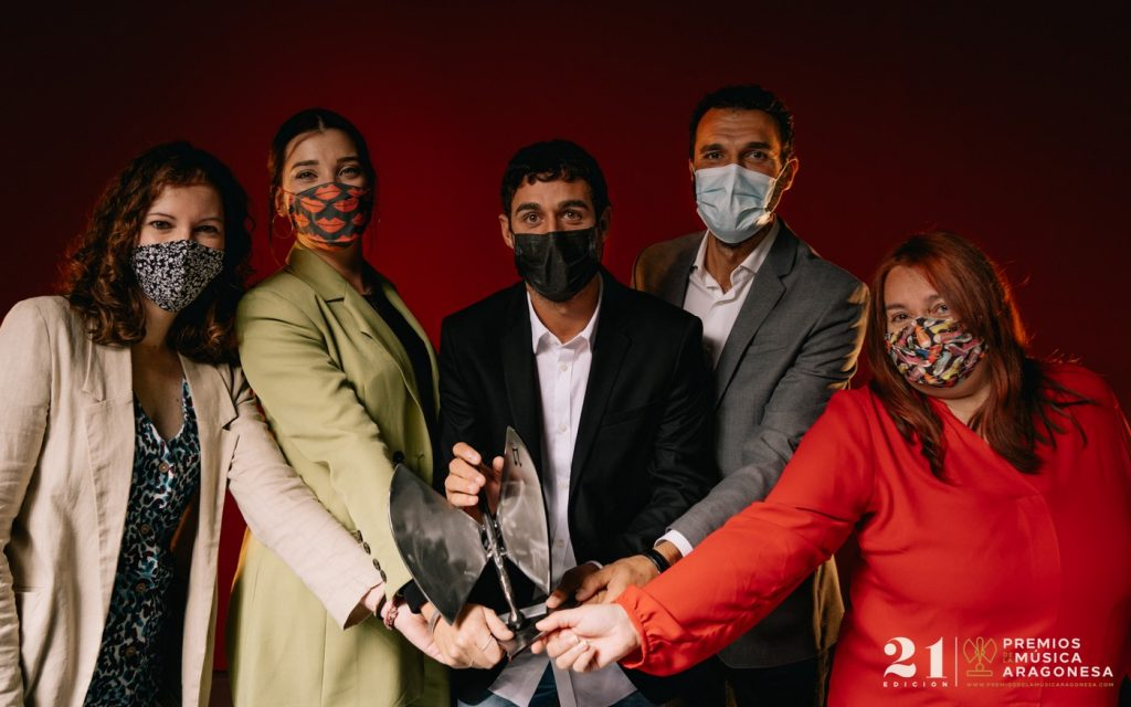 El Veintiuno. 21º Premios de la Música Aragonesa. Foto, Jal Lux