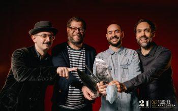 Kiev Cuando Nieva. 21º Premios de la Música Aragonesa. Foto, Jal Lux