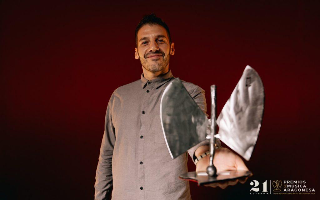 Andrés Campo. 21º Premios de la Música Aragonesa. Foto, Jal Lux