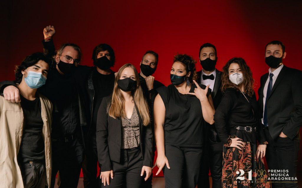 Aragón Musical. 21º Premios de la Música Aragonesa. Foto, Jal Lux