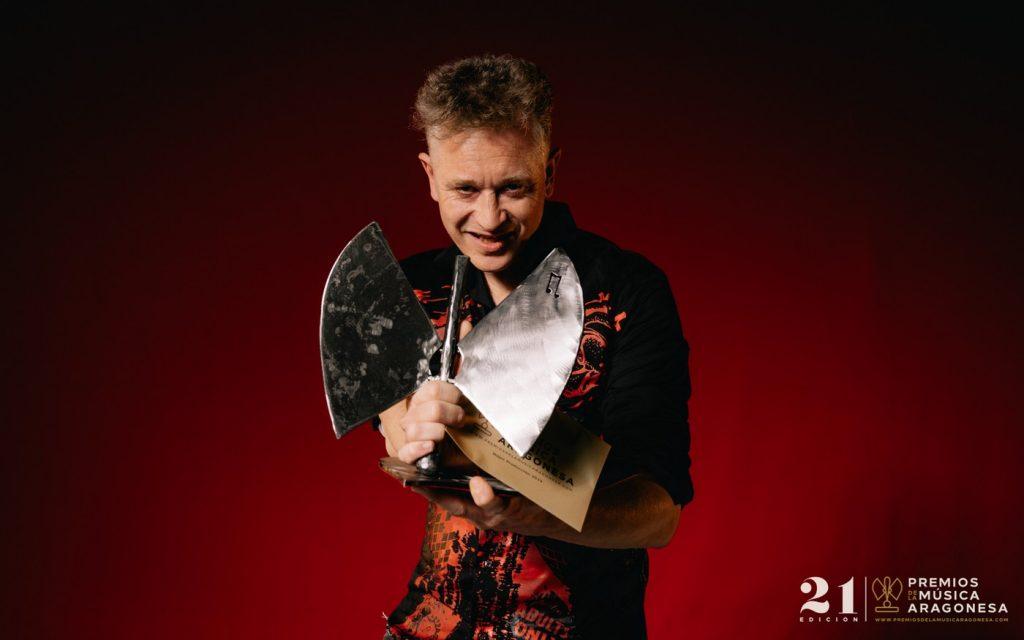 Nacho Serrano. 21º Premios de la Música Aragonesa. Foto, Jal Lux