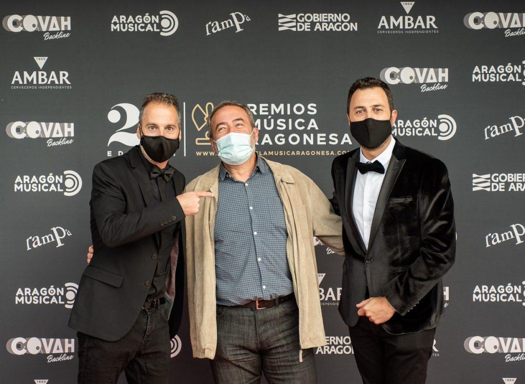 Chusé Prieto, Flip / 21 Premios de la Música Aragonesa. Foto, Ángel Burbano