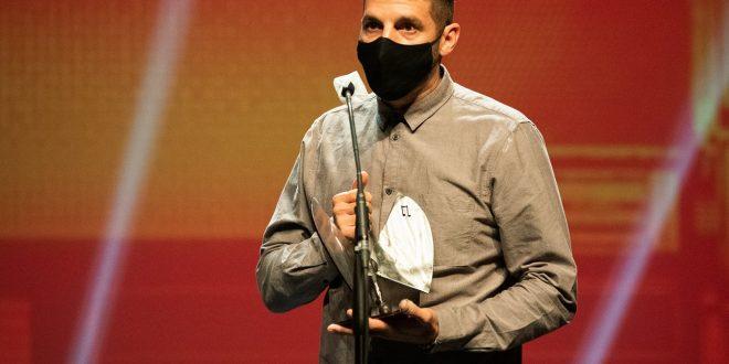 Andrés Campo / 21 Premios de la Música Aragonesa. Foto, Ángel Burbano