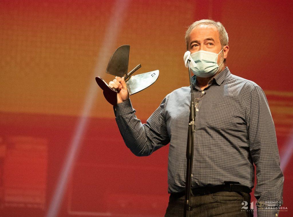Chusé Prieto / 21 Premios de la Música Aragonesa. Foto, Ángel Burbano