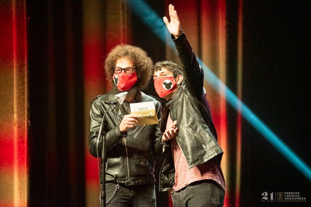 Domador / 21 Premios de la Música Aragonesa. Foto, Ángel Burbano
