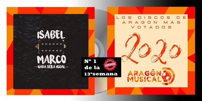 Isabel Marco es Nº1 de los discos aragoneses de 2020 en la 13ª semana
