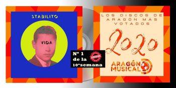 Stabilito protagoniza la primera posición de discos aragoneses de 2020 en la 10ª semana de votaciones